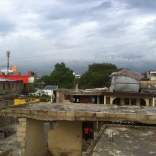 A view from the other side of Manno's roof.